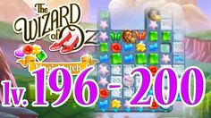 Wizard of Oz: Magic Match - Level 196 - 200 (1080/60fps)