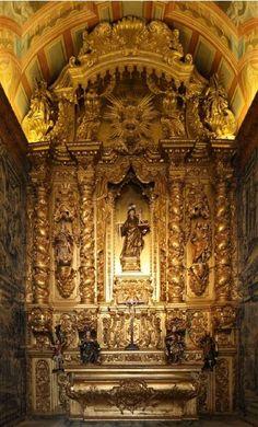 """A relíquia do mês: Retábulo Barroco """"Joanino"""" em Viseu - http://local.pt/a-reliquia-do-mes-retabulo-barroco-joanino-em-viseu/"""
