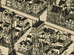 Historic Evansville - 1888 Panoramic - Owen Block