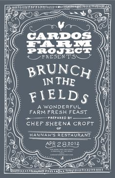 """Brunch in the Fields"""