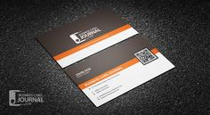 A In Retro Design That Includes Both Business Card And Loyalty - Coffee business card template free