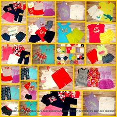 b7e6d1e93465 Nwt Gymboree Gap Girls 18-24 Months Summer Lot 19pcs Outfit Shorts Dress  set Top