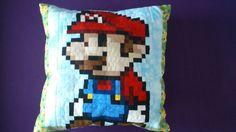 supermario-kissen Throw Pillows, Bed, Cushion, Craft, Cushions, Stream Bed, Decorative Pillows, Decor Pillows, Beds