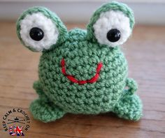 Doodle Zoo 3: Finlay the Frog ~ free pattern ᛡ