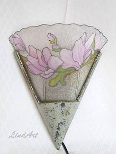 Linduschka / Nástenná lampa Magnolia