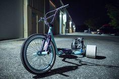 Tortuga Trikes: Gas Powered Drift Trike | HiConsumption