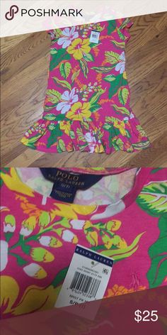 New Ralph Lauren girls dress size 7 New with tags. Polo by Ralph Lauren Dresses Casual
