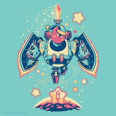 Soul Steel By Wes Talbott, today at The Yetee!