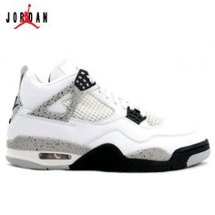 the latest f2fda f4867 308497-103 Air Jordan Retro 4 Cement 2012 White Cement Grey Black A04006, Jordan-Jordan 4 Shoes Sale Online