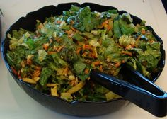 Souplantation/Sweet Tomatoes Copycat Recipes: Wonton Chicken Salad