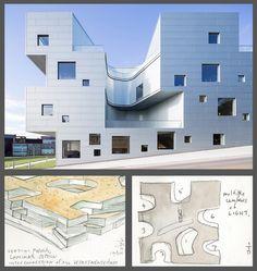 Visual Arts Building, University of Iowa | Steven Holl Architects | Photo © Iwan Baan