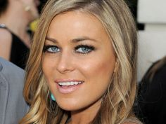 Ashy on top, buttery down below — Carmen Electra uses several tones of blonde and brown hair color for a vaguely punk-inspired look.   - MarieClaire.com