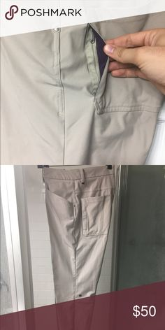 "Lululemon ""Mission Pant"" Similar cut to the ABC pant. This pant was the model before they created the ABC. Same swift material. A 34 in their old sizing which is the equivalent of a 32 waist. lululemon athletica Pants Straight Leg"