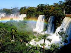 Tropical Rainforest Waterfalls | 100 best images about Nature - Waterfalls on Pinterest