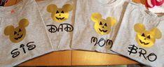 Family Disney Shirt Set Matching Family Family vacation