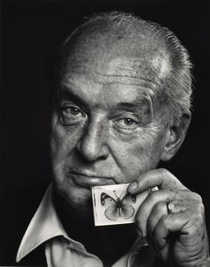 Yousuf Karsh - Vladimir Nabokov (1899-1977), 3 November 1972, printed before September 1988.