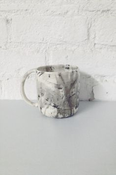 BTW Ceramics Watercolor Mug - Young & Able / Also available at our pop-up shop: 345 Broome St. New York 10013