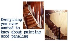 START HERE FIRST FOR PANELING. Everything you ever wanted to know about painting wood paneling