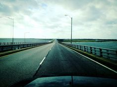 POTD - September 17th. This is one crazy driving trip. We landed in Philly, drove to New Jeresy, then Delaware, then over to Maryland, then back to Delaware heading to Virginia. I had to post this pic of going over the Chesapeake Bay Bridge. An incredible feat of engineering.