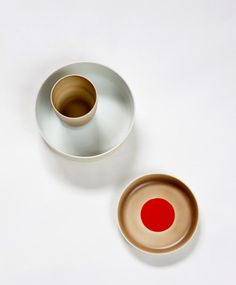 """Geschirr """"Colour Porcelain"""" von 1616 Arita"""