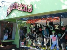 Flashbacks - these stores are in various locations in California. Tons of fun. My daughter and I go to the one in Encinitas when visiting family there,