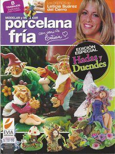 Cold Porcelain Special Edition FAIRIES & ELVES - Hadas y Duendes (2010)  by Leticia Suarez del Cerro (Spanish) - last in stock