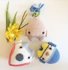 4seasons SPRING made by Julia V. / crochet pattern by lalylala