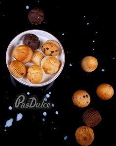 Mini Magdalenas Mini Muffins  www.pasdulce.com