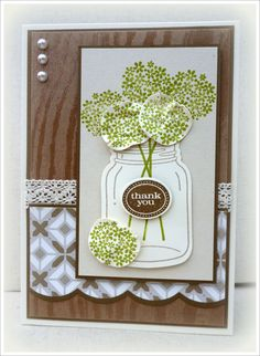 #perfectly preserved  #cannery framelits dies  #stampin' Up!