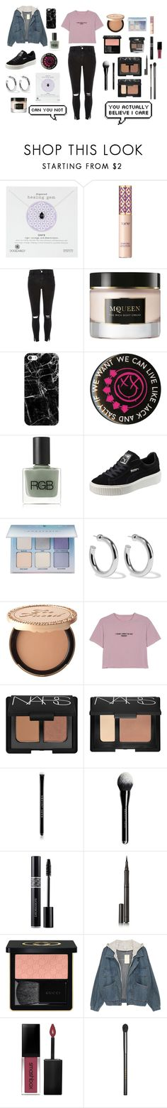 """""""you'd be nice to come home to"""" by paulawilkinson ❤ liked on Polyvore featuring Dogeared, Chanel, tarte, River Island, Alexander McQueen, Casetify, RGB, Puma, Anastasia Beverly Hills and Sophie Buhai"""
