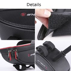 6inch Waterproof Touch Sceen Mobile Phone GPS Bag Handlebar Mouting New Bicycle, Bike, Radar Detector, Car Audio, Velcro Straps, Other Accessories, Electric Scooter, Pouch, Automobile