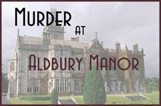 To look into: Free Murder Mystery Dinner Theater Game - Murder at Aldbury Manor. It's good for 7 players. I'll need to make sure it's clean before using...