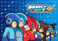 """Rockman Fans Will Converge for """"Rock Party"""" — The Mega Man Network"""