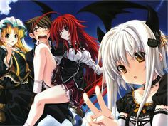 This HD wallpaper is about anime character illustration, anime girls, Highschool DxD, Argento Asia, Original wallpaper dimensions is file size is Asia Argento, Anime High School, Ange Demon, Music Clips, Character Illustration, Anime Characters, Hero, Drawings, High Shool