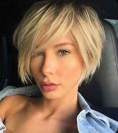 Stylish Short Haircuts, Edgy Short Hair, Short Layered Haircuts, Layered Bob Hairstyles, Haircut Short, Long Hair, Short Hair Cuts For Women Edgy, Short Fine Hair Cuts, Curly Hair