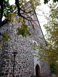 The church of St Lawrence, Lohja. Grave Monuments, St Lawrence, Graveyards, Cathedrals, Finland, Medieval, Saints, Pictures, Photos