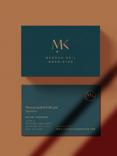 Merran Keil Barrister - Full branding & Squarespace website design by Leah Sylvia Creative Foil Business Cards, Business Cards Layout, Simple Business Cards, Professional Business Cards, Creative Business, Business Card Design Inspiration, Business Design, Web Design, Logos