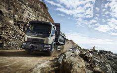 Download wallpapers Volvo VM330, 2017, new trucks, dump trucks, Swedish cars, Volvo