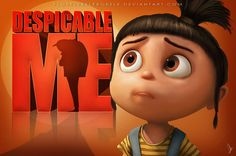 Agnes from Despicable Me! I looooove her and the minions, but the sequel's story was kinda meh :/