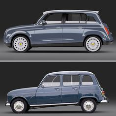 david obendorfer: revival of a childhood impression renault 4 ever shortlisted entry
