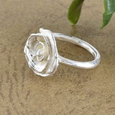 rose ring, Ring for woman, 925 silver, Unique ring, women ring, Gift, Birthday gift, jewelry, ring designs, silver ring, Handmade Rings, wow