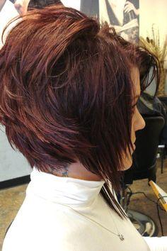 Haircut (Right side, asymmetrical)