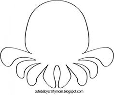 Octopus.  Can be used for under-the-sea themed activities or with my magnet fishing activity.