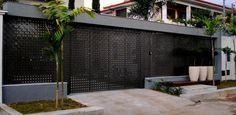 Modelos de muros residenciais – Blog 321Achei Decoração