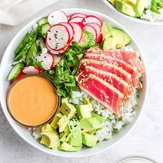 Say hello to the most delicious healthy bowl recipe you'll ever eat! This seared ahi tuna poke bowl is fresh, nutritious, and easy to make! Have you ever made seared ahi tuna? Sometimes fish can be…