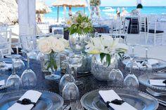 Elegant Wedding  Natural Flowers Decor  Venue Kukua Punta Cana  Design Begokua  Photo by F3 Photography