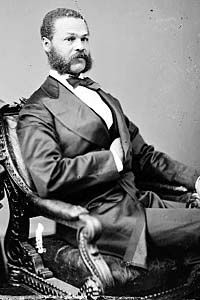 Republican Jefferson Franklin Long (1836-1901) was the first black from Georgia to serve in the US House of Representatives. Born into slavery, he became a merchant tailor. During his tenure in Congress Long gave one brief speech urging that body to keep in place the test-oath which disqualified thousands of ex-Confederates from voting. However, Long used this opportunity to denounce the KKK and other terrorist groups that attempted to suppress the black vote. His speech is on the link.