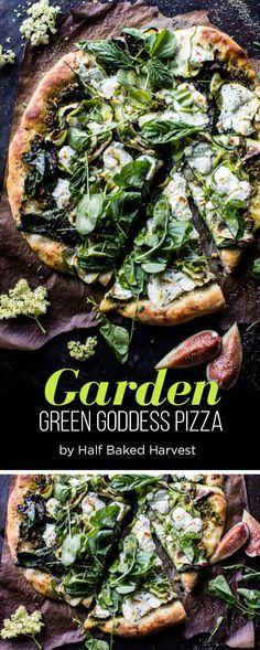 Garden Green Goddess Pizza | 7 Dinners To Make This Week