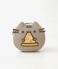 Pizza Pusheen Silicone coin pouch
