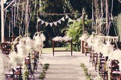 Wedding decoration I Bárbara e Ricardo I Tudo Orna  http://www.tudoorna.com